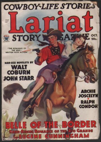 Lariat Story Magazine 1935 October.
