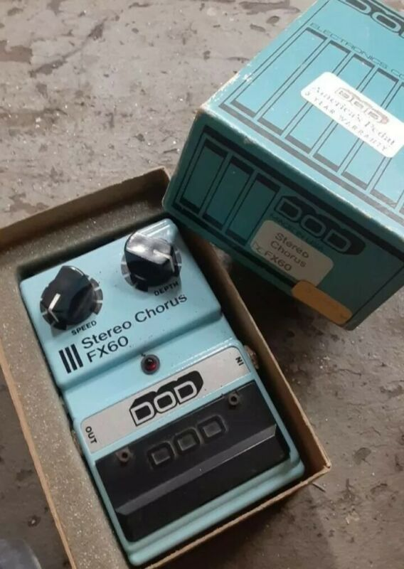 Dod stereo chorus New In Box