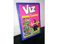 VIZ. The sausage sandwich hardback.