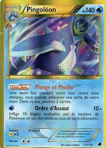 Pingoleon shiny 140pv 117 116 secret neuf carte pokemon ebay - Pokemon pingoleon ...