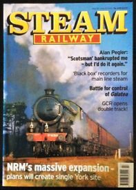 131 BACK ISSUES OF STEAM RAILWAY MAGAZINE FOR SALE