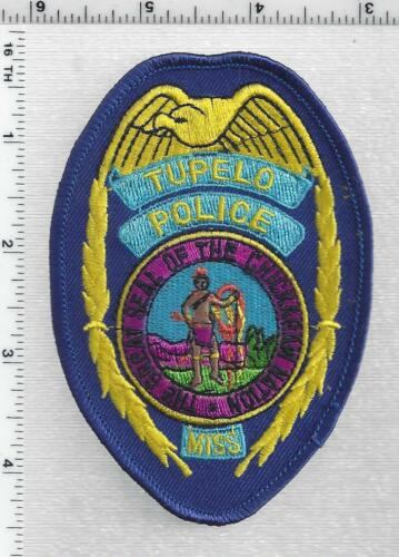 Tupelo Police (Mississippi) 3rd Issue Shoulder Patch