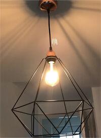 Brand new Ikea geometric shade