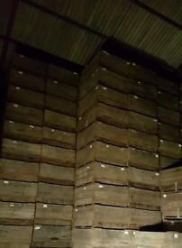 Large wooden boxes /compost bins/scrap/skip/storage/farms/logs/planter £10 each