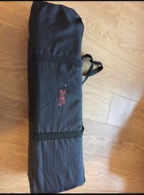 Redkite travel cot. Great condition, only used a few times.