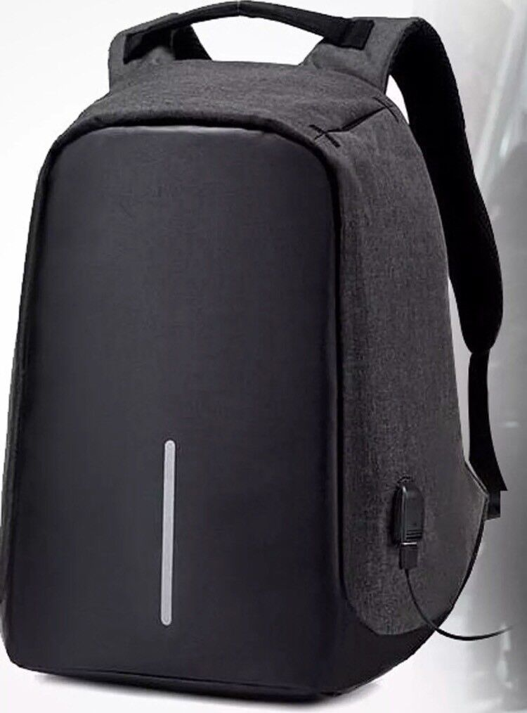 c5574dcf1f08 Anti Theft Laptop Backpack with USB Charging Port Water Proof Business  Travel Bag (Black)