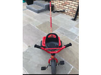 Trike with parental handle - very good condition