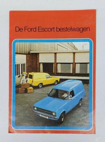Ford Escort Van Sales Brochure (Dutch)