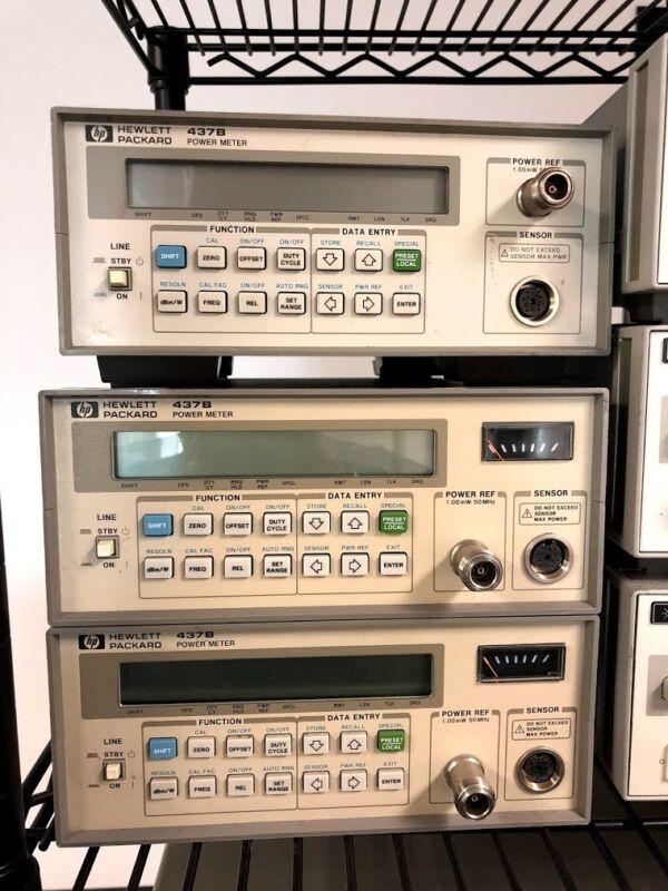 HP Agilent Power Meter In Calibration 437B
