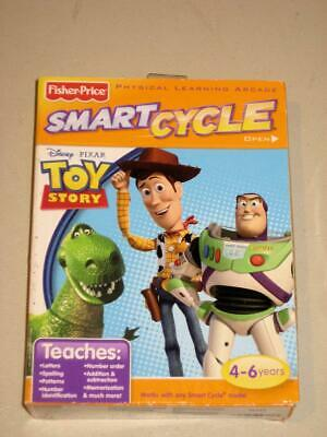 Fisher Price Smart Cycle Disney Pixar Toystory Game Cartridge New Fisher Price Smart Cycle Cartridges