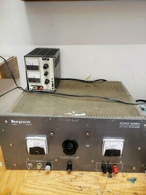 Vintage 1960 Kepco 60 Cycle Voltage Regulated Power Supply Sm-160-4m