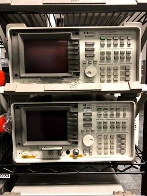 Hp 8595e 9khz-6.5ghz Spectrum Analyzer Tracking Generator