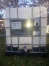 IBC 1000 lt tank water farm storage fire fighting fish aquaponini Kurrajong Heights Hawkesbury Area Preview