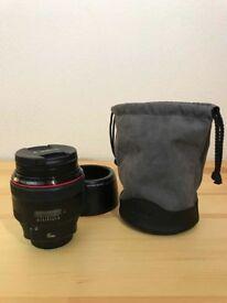Canon EF 85mm f1.2 L II USM Lens
