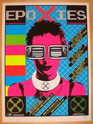 2005 The Epoxies Silkscreen Concert Poster s/n Stainboy