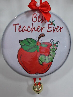 CHRISTMAS HOLIDAY ORNAMENT FOR YOUR  BEST TEACHER EVER PRESENT GIFT (Best Christmas Presents For Teachers)