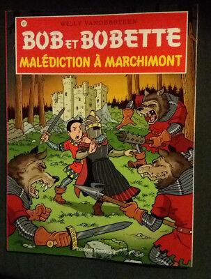 Bob et Bobette 327 EO Malédiction à Marchimont Vandersteen Standaard