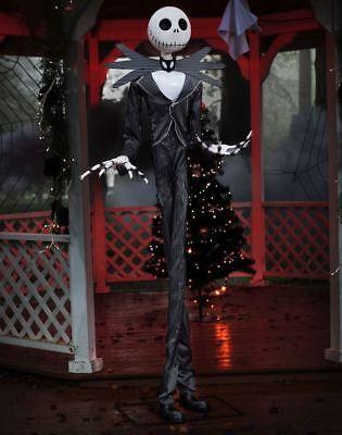 Nightmare Before Christmas - 6 Ft Jack Skellington Halloween Animatronics / Prop