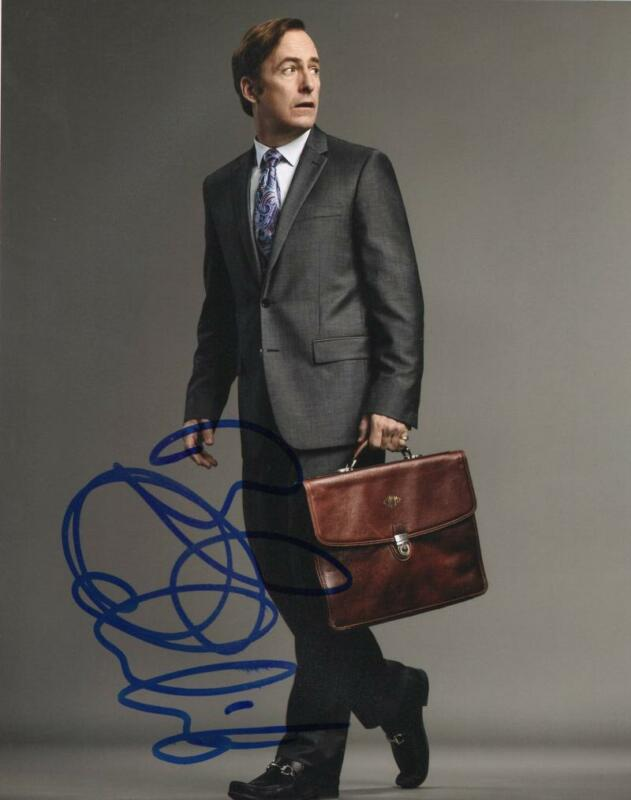 BOB ODENKIRK SIGNED 8X10 PHOTO AUTHENTIC AUTOGRAPH BREAKING BETTER CALL SAUL E