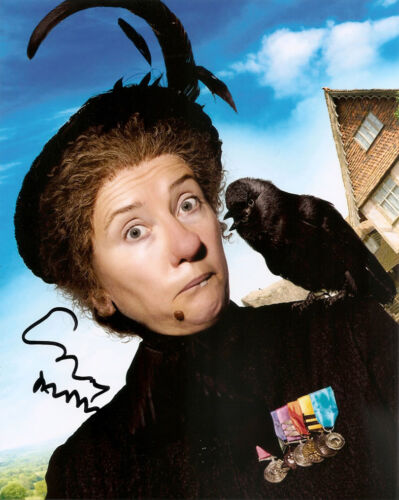 EMMA THOMPSON GENUINE AUTHENTIC SIGNED NANNY 10X8 PHOTO AFTAL & UACC [9577]