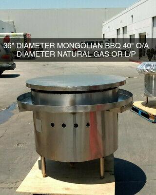 36 Commercial Mongolian Bbq Cooker Restaurant Equipment Model Mb36