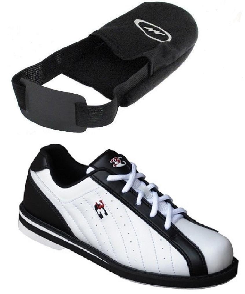 Mens 900 Global 3G KICKS Bowling Shoes White/Black Sizes 5-1