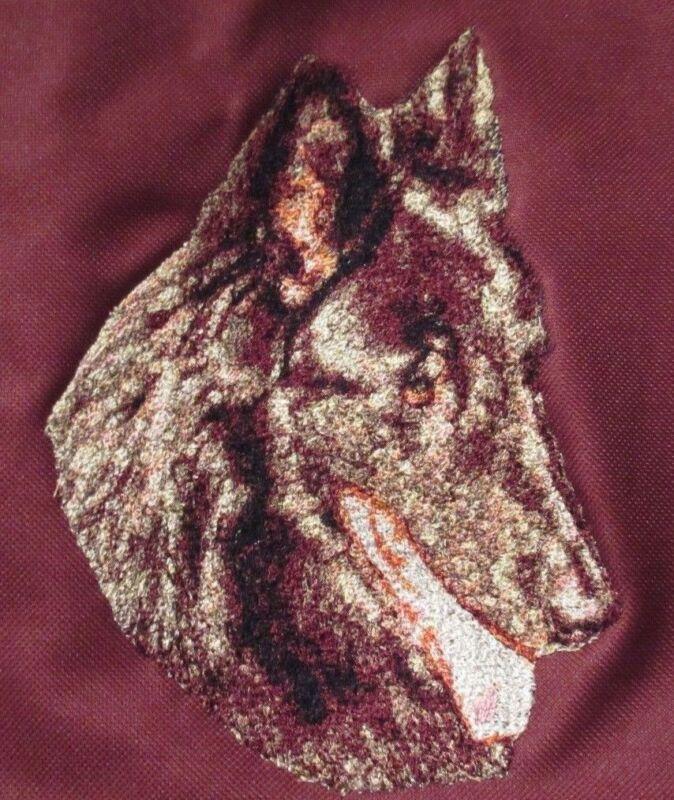 Embroidered Fleece Jacket - Belgian Sheepdog DLE1481  Sizes S - XXL