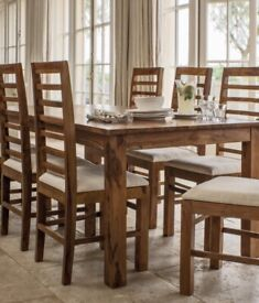 3083d61b22b38 Inglewood extendable dining set with 4 chairs - Brand New | in Leigh ...
