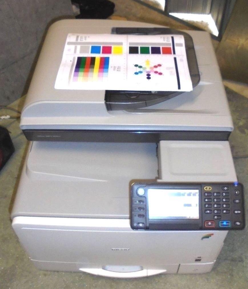 Ricoh MP C305 desktop colour photocopier / postscript 3 printer PS3