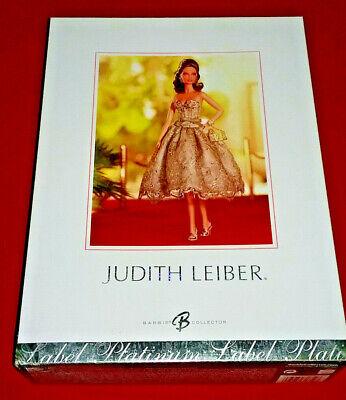 Judith Leiber Platinum Label Designer Barbie Doll 2005 NRFB Mint
