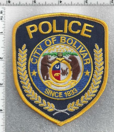 City of Bolivar Police (Missouri) 3rd Issue Shoulder Patch