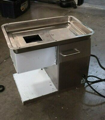 Used- Commercial Meat Slicer Cutting Machine Shredded Equipment No Blade