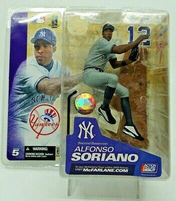 Alfonso Soriano 2003 McFarlane Action Figure Series 5 New York Yankees NIP
