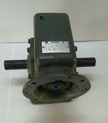 Winsmith Gearbox - 60 To 1 Ratio Model 5mct Output Torque 1113 Nos