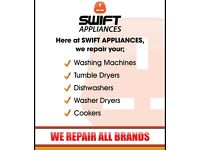We Repair and Supply Washing Machine, Dishwasher, Dryers, Ovens, Cookers, Vacume cleaners Etc