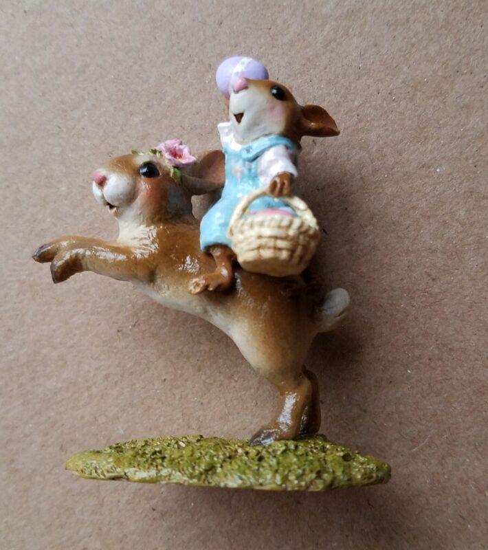 Wee Forest Folk M-479 Easter Bunny Hop - Retired