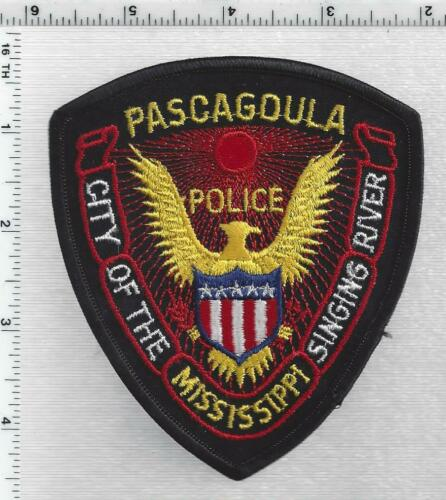 Pascagoula Police (Mississippi) 3rd Issue Shoulder Patch