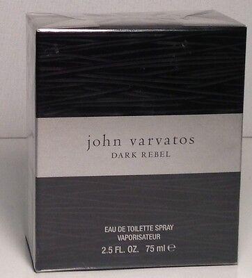 John Varvatos DARK REBEL  Eau De Toilette  For HIm 75Ml brand new Boxed