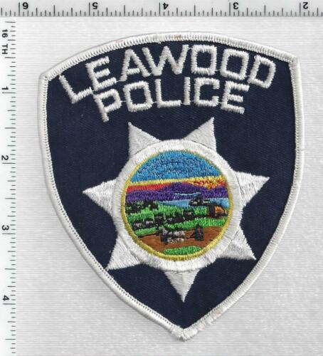 Leawood Police (Kansas) 2nd Issue Shoulder Patch