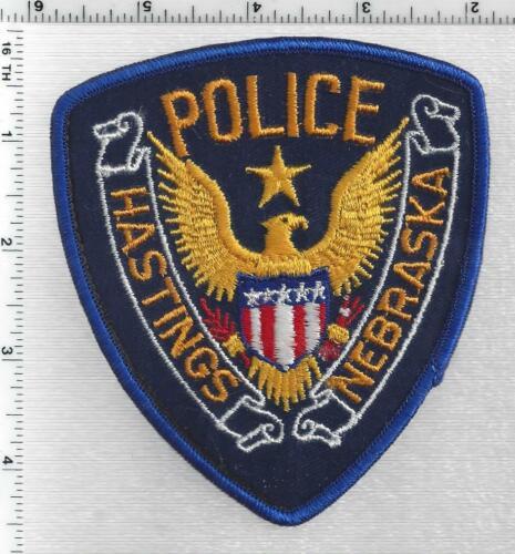 Hastings Police (Nebraska) 1st Issue Shoulder Patch
