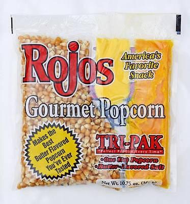 Gourmet Popcorn Tri-pack Portion Pack For 8 Oz Popcorn Machine Popper