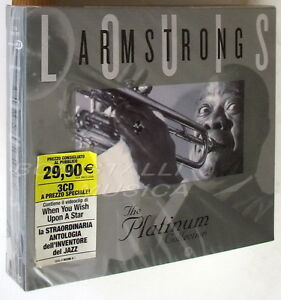 LOUIS-ARMSTRONG-THE-PLATINUM-COLLECTION-3-CD-Sigillato