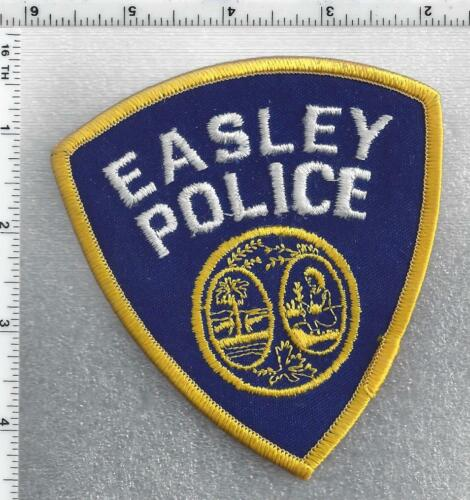 Easley Police (South Carolina) 3rd Issue Shoulder Patch