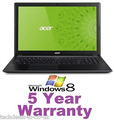 New Acer V5 Laptop Windows 8, 500GB HD, 12GB Ram, Ultra Slim & Light, Intel