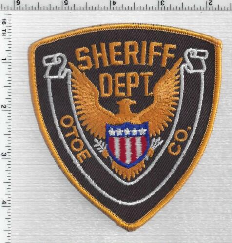 Otoe County Sheriff (Nebraska) 1st Issue Shoulder Patch