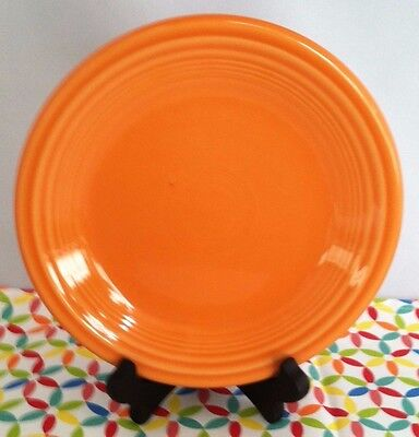 Fiestaware Tangerine Salad Plate Fiesta Retired Orange Small Plate - Fiesta Plate