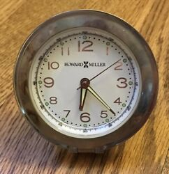 Howard Miller Crescendo Travel Alarm Clock