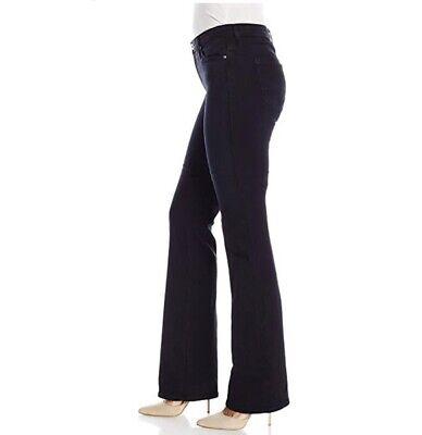 AG ADRIANO GOLDSCHMIED Womens The Angel Bootcut Deep Blue Indigo Denim Jeans 32R Adriano Goldschmied Angel Jeans