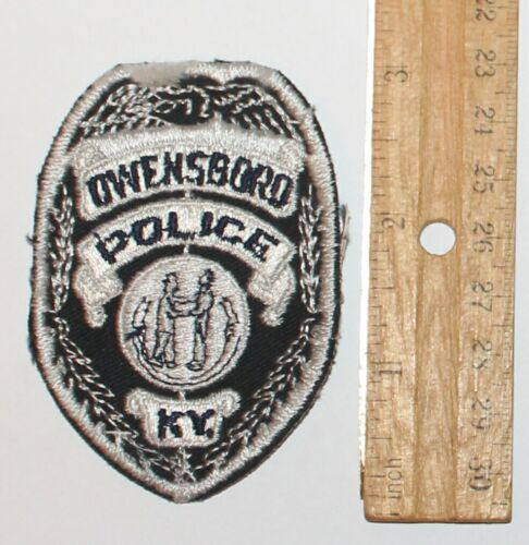 Old OWENSBORO POLICE Kentucky KY PD Vinatge patch