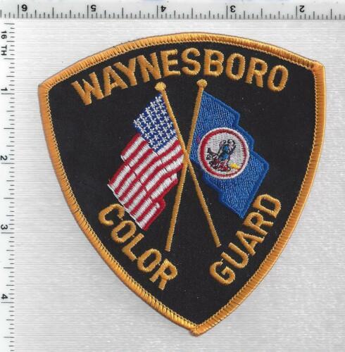 Waynesboro Color Guard (Virginia) 1st Issue Shoulder Patch